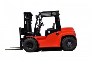 Motostivuitor diesel ISUZU - capacitate 7000 kg - CPCD70T8